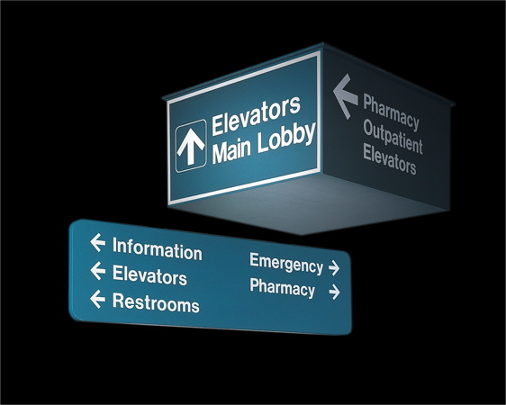 Kroy Signs Overhead Identification And Directional Signs
