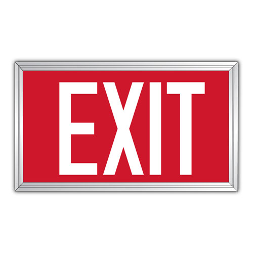 photo about Printable Exit Signs titled Kroy Indications Photoluminescent Protection Signs and symptoms